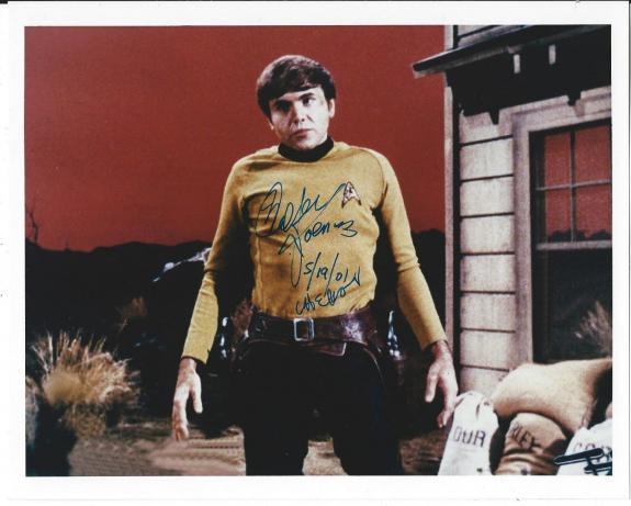 Walter Koenig Signed Star Trek Original Series Pavel Chekov 8x10 Photo #1