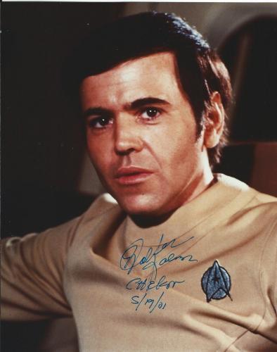 Walter Koenig Signed Star Trek Original Series Pavel Chekov 8x10 Photo #3