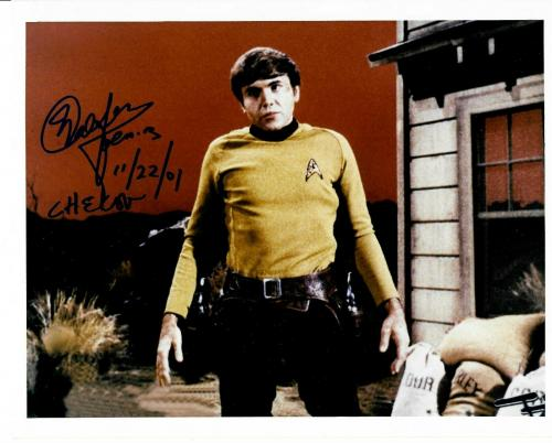 Walter Koenig Signed Star Trek Original Series Pavel Chekov 8x10 Photo #4