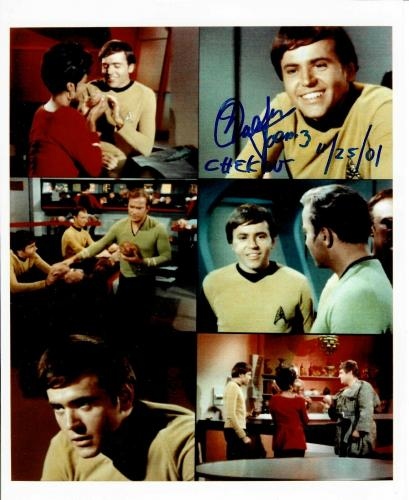 Walter Koenig Signed Star Trek Original Series Pavel Chekov 8x10 Photo #5