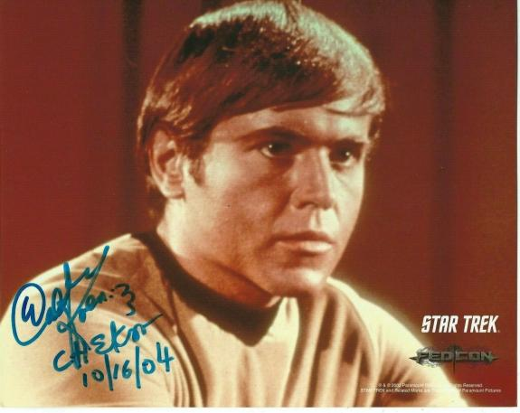 Walter Koenig Signed Star Trek Original Series Pavel Chekov 8x10 Photo #7