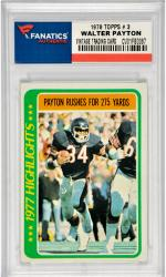 Walter Payton Chicago Bears 1978 Topps #3 Card