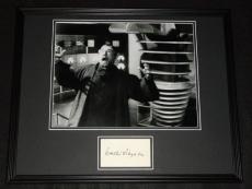 Walter Pidgeon Signed Framed 16x20 Photo Poster Display Forbidden Planet B