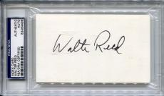 WALTER REED Signed w/Photo Rare PSA/DNA Slabbed Superman and the Mole Men Tora!