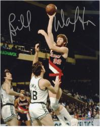 "Bill Walton Portland Trail Blazers Autographed 8"" x 10"" vs. Boston Celtics Photograph"