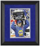 Michael Waltrip Autographed Photo - Mounted Memories