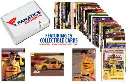 Michael Waltrip Collectible Lot of 15 NASCAR Trading Cards - Mounted Memories