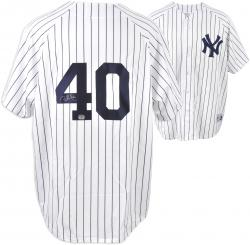 Chien-Ming Wang New York Yankees Autographed Jersey - Mounted Memories