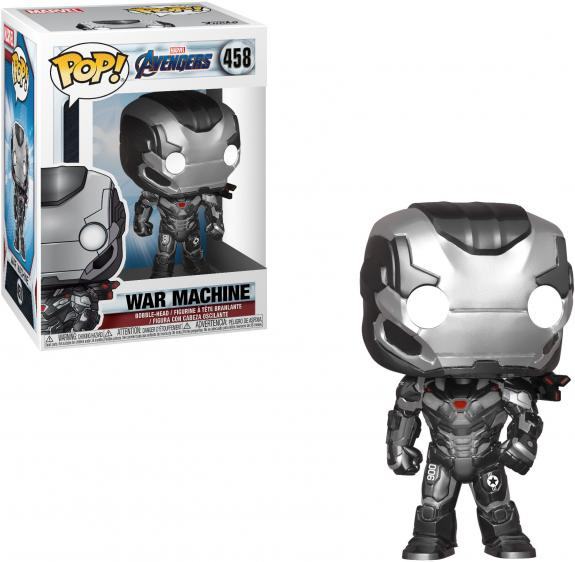 War Machine Avengers Endgame #458 Funko Pop!