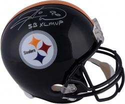 Hines Ward Pittsburgh Steelers Autographed Riddell Replica Helmet with SB MVP Inscription