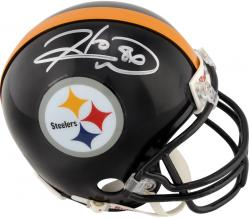 Hines Ward Pittsburgh Steelers Autographed Riddell Mini Helmet