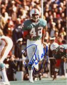 WARFIELD, PAUL AUTO (DOLPHINS/IN MOTION) 8X10 PHOTO - Mounted Memories
