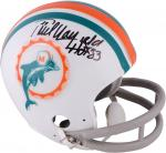 Miami Dolphins Paul Warfield Signed Mini Helmet - - Mounted Memories