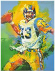 Kurt Warner St. Louis Rams Front View Original Artwork