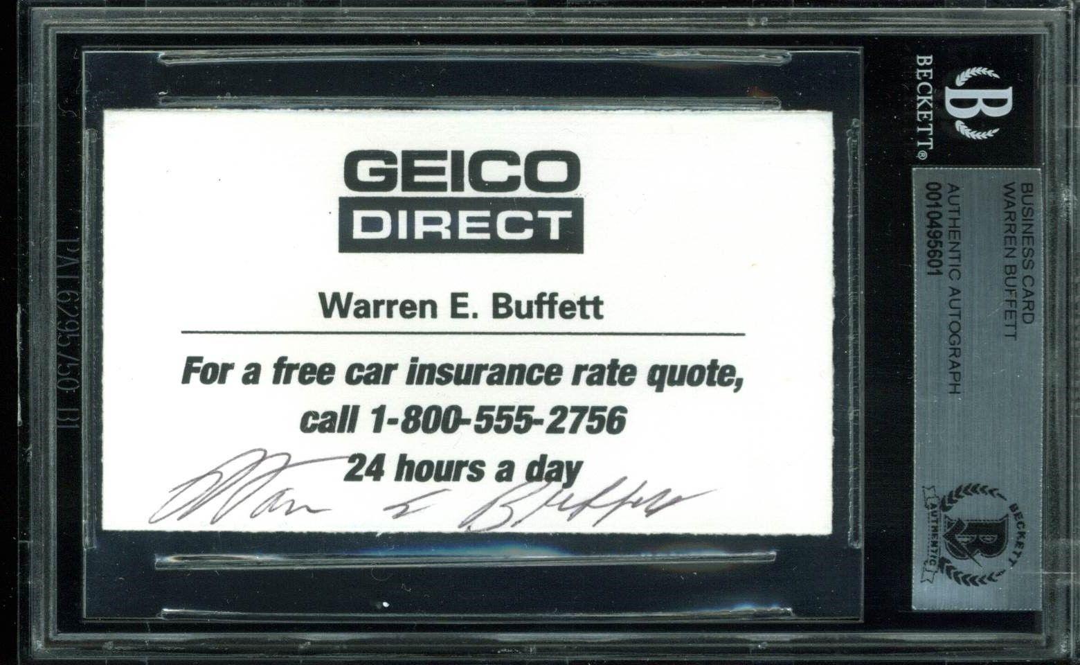 warren buffett business card | Poemview.co