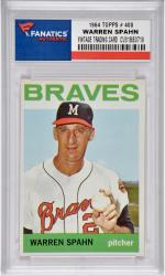 Warren Spahn Milwaukee Braves 1964 Topps #400 Card