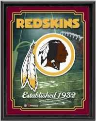 "Washington Redskins Team Logo Sublimated 10.5"" x 13"" Plaque - Mounted Memories"
