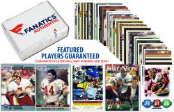 Washington Redskins Team Trading Card Block/50 Card Lot