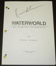 WATERWORLD Autographed Script by Kevin Costner