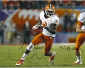 Sammy Watkins Clemson Tigers Autographed 16'' x 20'' Orange Bowl Photograph with 14 OB MVP Inscription - Mounted Memories