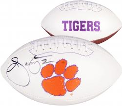 Sammy Watkins Clemson Tigers Autographed White Panel Football - Mounted Memories