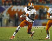Sammy Watkins Clemson Tigers Autographed 16'' x 20'' Orange Bowl Photograph - Mounted Memories