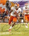 Sammy Watkins Clemson Tigers Autographed 8'' x 10'' Orange Bowl Photograph - Mounted Memories