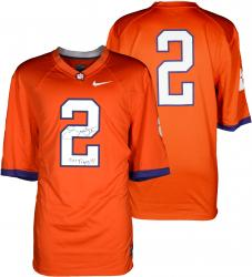 Sammy Watkins Clemson Tigers Autographed Nike Team Orange Jersey with Go Tigers Inscription - Mounted Memories
