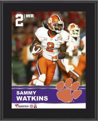 "Sammy Watkins Clemson Tigers Sublimated 10.5"" x 13"" Plaque"