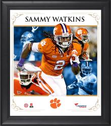 SAMMY WATKINS FRAMED (CLEMSON) CORE COMPOSITE - Mounted Memories