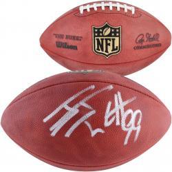 J.J. Watt Houston Texans Autographed Duke Pro Football