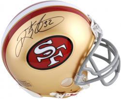 Ricky Watters 49ers Autographed Riddell Mini Helmet