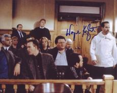 WAYNE KNIGHT signed *SEINFELD* 8X10 photo NEWMAN COA #6