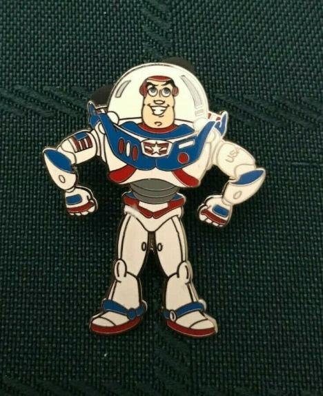 Wdw Disney 2002 Toy Story Buzz Lightyear Collectible Pin Vintage Rare
