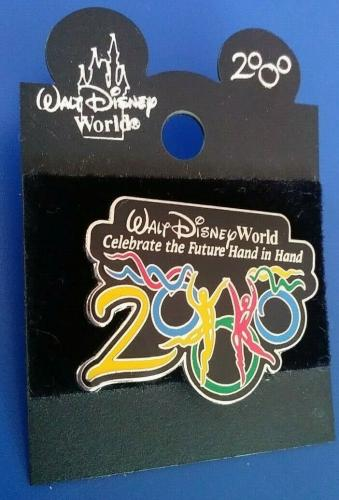 Wdw Disney World Celebrate The Picture Hand In Hand 2000 Collectible Pin Rare