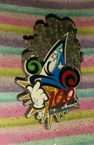 Wdw Disney World Mickey Mouse Hat 100 Years Of Magic Collectible Pin Rare L@@k