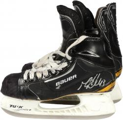 Mike Weaver Florida Panthers Game-Used Pair of Bauer Classic 1 Hockey Skates