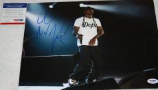 WEEZY F BABY LIL WAYNE signed 11 x 14, Young Money,The Carter, Tunechi, PSA/DNA