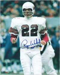 Roger Wehrli Arizona Cardinals Autographed 8'' x 10'' Action Photograph with HOF 07 Inscription - Mounted Memories
