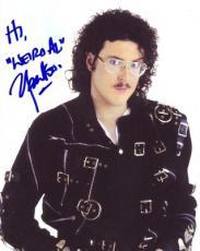 WEIRD AL YANKOVIC signed *MICHAEL JACKSON* 8X10 W/COA