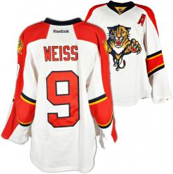 Stephen Weiss Florida Panthers Game-Used Hockey White Jersey-Set 2