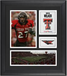 """Wes Welker Texas Tech Red Raiders Framed 15"""" x 17"""" Collage"""