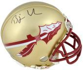 Bjoern Werner Florida State Seminoles Autographed Riddell Mini Helmet