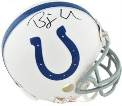 Riddell Bjoern Werner Indianapolis Colts 2013 NFL Draft Autographed Mini Helmet