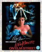 Wes Craven Autographed Nightmare on Elm Street Movie Poster 8x10 Photo