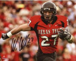 "Wes Welker Texas Tech Red Raiders Autographed 8"" x 10"" Photograph"