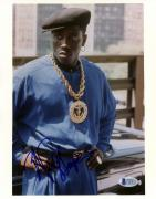 "Wesley Snipes Autographed 8""x 10"" New Jack City Big Gold Chain Photograph - Beckett COA"