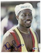 "Wesley Snipes Autographed 8""x 10"" White Men Can't Jump Wearing LE DEFI Hat Photograph - Beckett COA"
