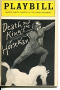 Wesley Snipes Vanesa William Wole Soyinka Death And the King's Horseman Playbill