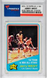 Jerry West Los Angeles Lakers 1972-73 Topps All-Star #164 Card